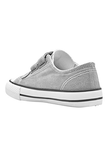 next Niños Zapatos con Tres Tiras (Niño Mayor) Gris