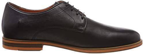 Zapatos U black Derby B C9999 Hombre Para Geox Negro Bayle qPx4wqt