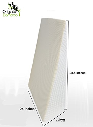 Wedge Bed Pillow - Elevated Supportive Cushion - 28