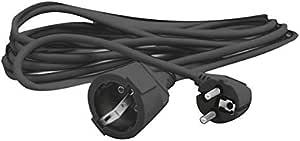 Silver Electronics 9225 Prolongador Manguera, Negro, 5 Metros