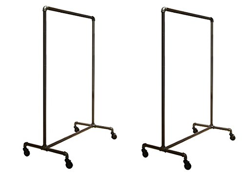 Econoco Pipeline Non-Adjustable Ballet Rack (2-Rack) by Econoco