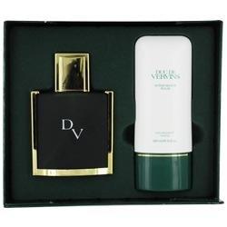 Houbigant Duc De Vervins Cologne 2 Piece Gift Set for Men (Eau de Toilette Spray, After Shave Balm)