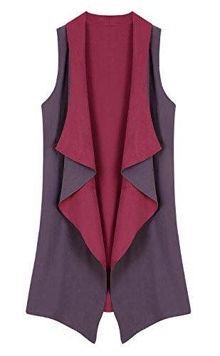 Urban CoCo Sleeveless Waistcoat Pockets product image