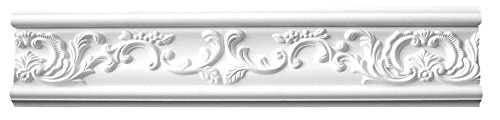 Designer's Edge Millwork DEM-335 Floral Frieze/Panel Moulding 5-1/8