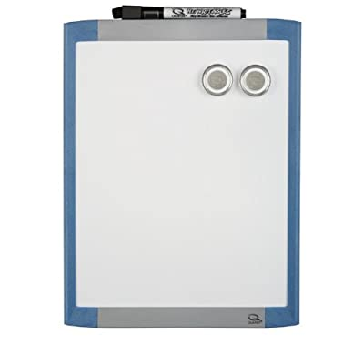 Quartet Magnetic Dry Erase Whiteboard, 8.5 x 11-Inches, Frame Colour May Vary (21-580342Q)