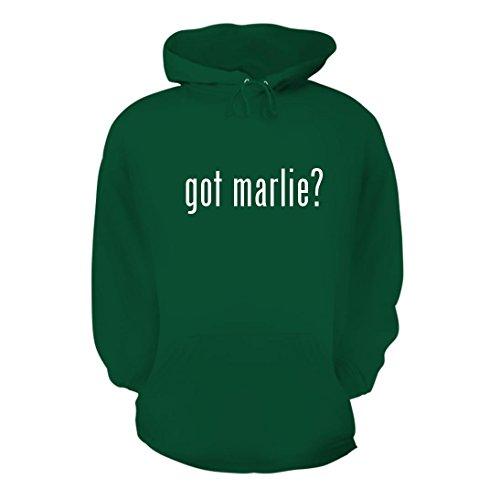 Christofle Mirror (got marlie? - A Nice Men's Hoodie Hooded Sweatshirt, Green, Large)