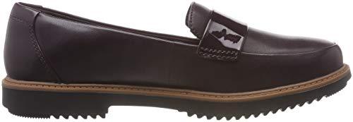 Femme Arlie Clarks Violet loafers Raisie aubergine Mocassins qI44z5Ofw