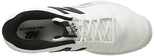 New Balance Heren Mc996v3 Tennisschoen Wit / Zwart