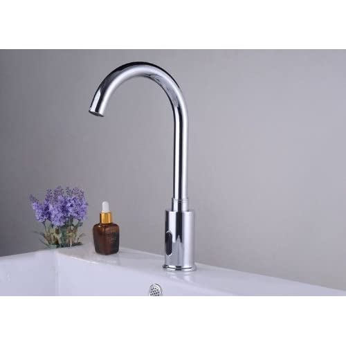 85%OFF Bathroom Electronic Automatic Hand Free Touchless Sensor Faucet Tap Hot & Cold