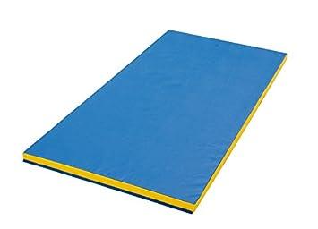 tapis gymnastique en mousse anti feu dessous anti drapant 2m x - Tapis Gym
