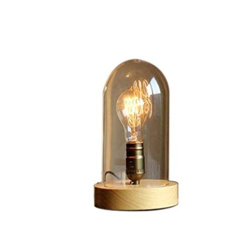 Soporte de madera E27 para luz de escritorio, para salón ...