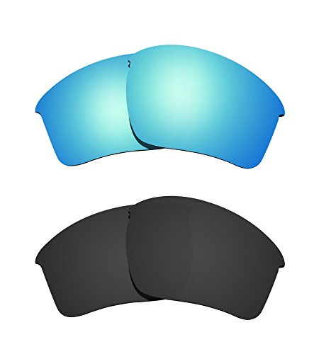 e5fe456964 Littlebird4 2 Pairs 1.5mm Polarized Replacement Lenses for Oakley Half  Jacket 2.0 XL Sunglasses -