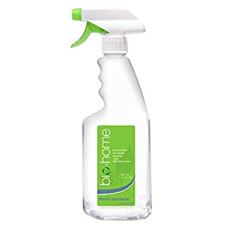 bio-home Multi-Surface Cleanser - Lemongrass & Green Tea, Biodegradable, Eco-Friendly, Concentrated, 100% Plant Based Active, 17 FL OZ