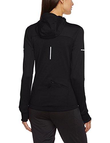 Nike Women's Half Zip Thermal Running Hoodie-Black-XXL