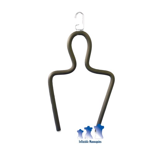 Shirt Form - Hanging Rubberized Shirt Display Form