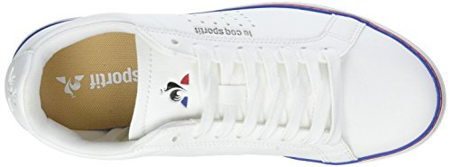 Sneaker Le Sport Courtace Blanc White Optical Bianco White Donna Sportif Optical Coq xCCqrwnUY