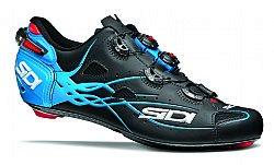 Sidi Shot Vent Carbon Cycling Shoe - Men's B0793DH417 42 Black/Light Blue