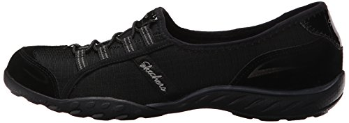 Skechers Sport Women's Breathe Easy Allure Fashion Sneaker,Black,8 M US by Skechers (Image #5)
