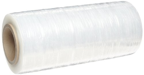 Goodwrappers Stretch Film (Goodwrappers PVT12090 Linear Low Density Polyethylene Clear Cast Hand Stretch Wrap On a 3