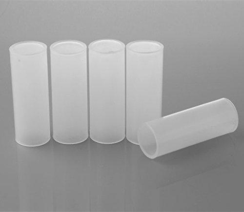Hisonde 18650 Battery Protective Sleeves,18650 Battery Holder Converter (5-Pack)