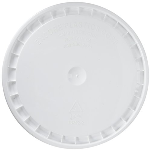 Leaders 53000-201008 Encore Plastics Snap-On Paint Pail Lid, Polyethylene, White ()