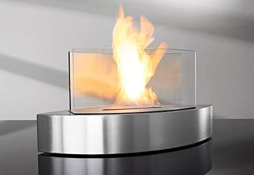 Sharper Image Tabletop Fireplace – Black
