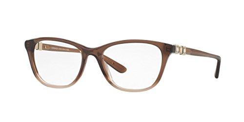 Versace Women's VE3213B Eyeglasses Brown Gradient - Eyeglasses Versace