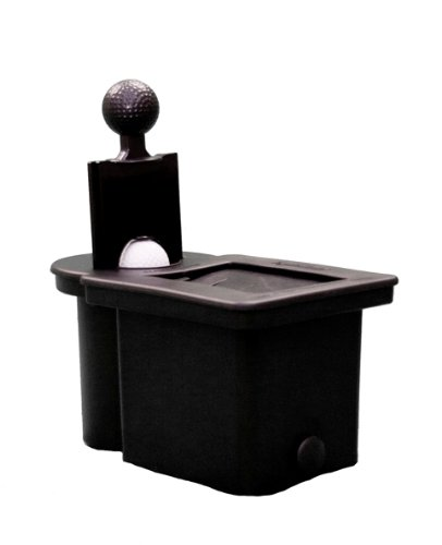(Club Clean - Black - Original Club and Ball Washer with Bracket Kit - Americas No.1 Club & Ball)
