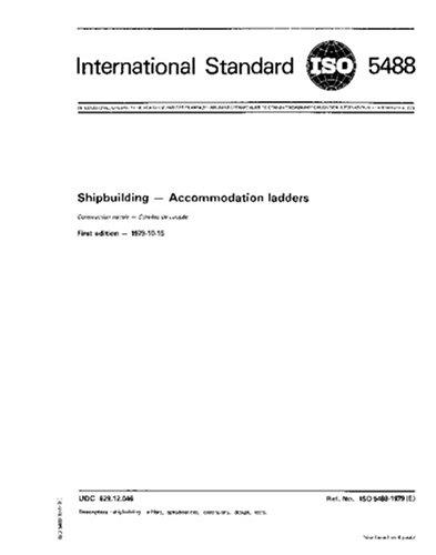 ISO 5488:1979, Shipbuilding -- Accommodation ladders