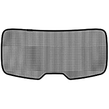 3D MAXpider S1PO0105 Soltect Rear Window Custom Fit Sun Shade (for Select Porsche Cayenne Models)