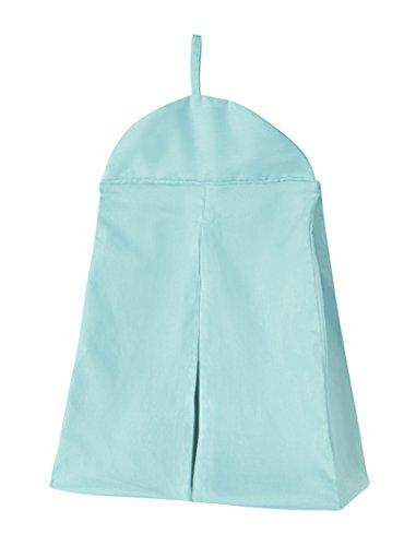 Sweet Jojo Designs Turquoise Blue Girl or Boy Gender Neutral Diaper Stacker Storage Organizer
