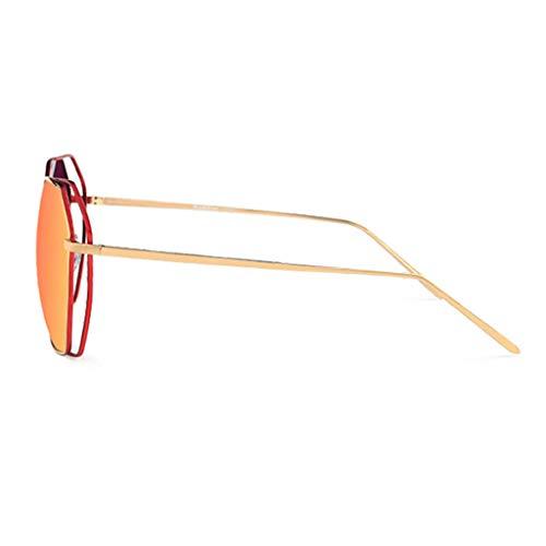 Mode de de Des A Nouvelles lunettes Conduite Lunettes Femme Miroir Soleil soleil Sport rétro C Couleur coloré polarisées de 45wvn51q