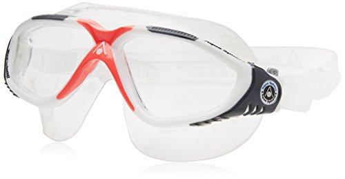 Aqua Lung Aqua Sphere Vista Lady Swim Mask, White/Coral