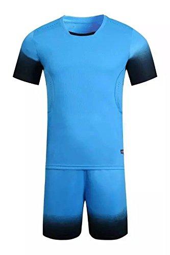 4126d6caa18 Amazon.com   FidgetFidget Suits Fade Sleeve Design Blank Running Soccer  Jersey Kit Uniforms Football Sport   Sports   Outdoors