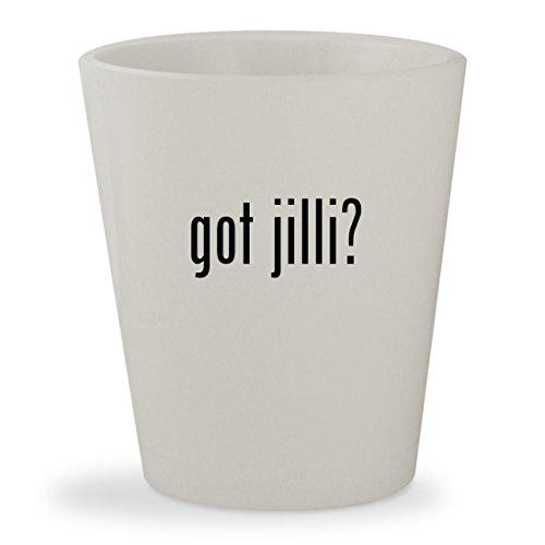 got jilli? - White Ceramic 1.5oz Shot Glass