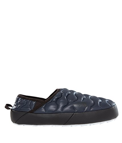 Thermoball Traction Mule IV Water Resistant Slippers - Shiny Urban Navy/White - 9 (North Face Mens Single)
