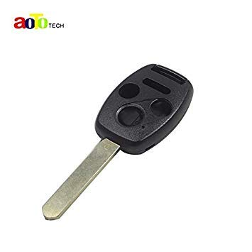 FIESTA YTCARTOOL 20ps/Lot 4 Buttons 3 Button+Panic Remote Key Case Shell for Honda 2003 2008 2009 Accord CR-V Civic Insight Ridgeline with Logo