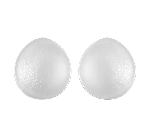 - SODACODA Women's - 150g/pair - Round Full Cup Soft Silicone Inserts Breast Enhancers for Bras Swimsuits and Bikinis - Create natural cleavage - suitable for A, B and C Cups - Clear
