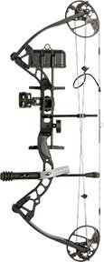 Diamond Archery Infinite Edge Pro Bow Package, Black Ops, Ri
