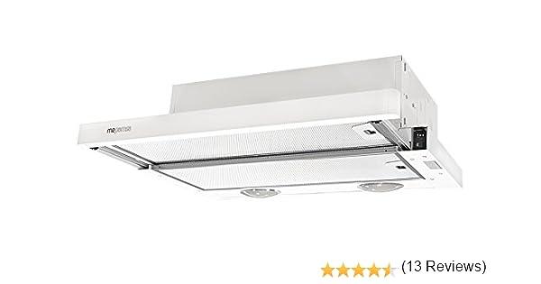 Campana ECOLINE 60 BLANCA V3: Amazon.es: Grandes electrodomésticos