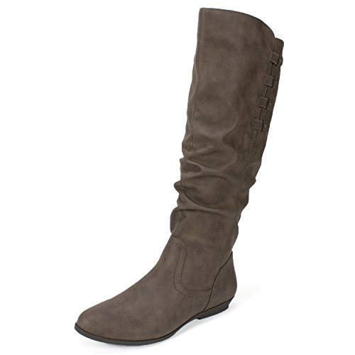 Cliffs 'Francie' Women's Boot, Brown Suede - 7.5 M