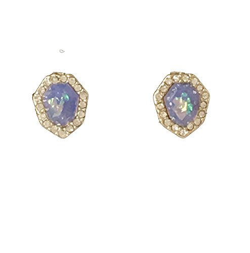 J. Crew Factory - Iridescent Crystal Pave Post Earrings for sale  Delivered anywhere in USA