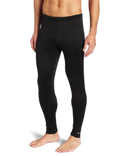 Mid Layer Ski - Duofold Men's Mid Weight Varitherm Thermal Pant, Black, Small