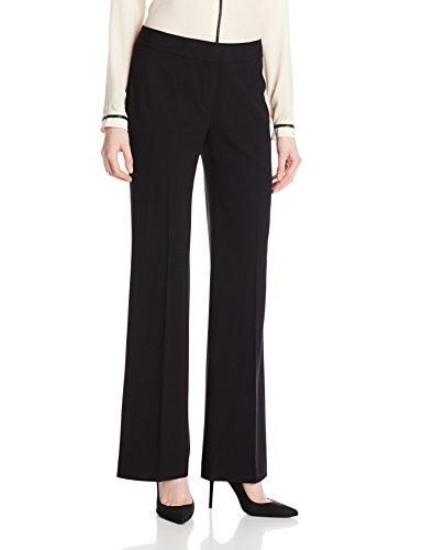 Nine West Women's Bi Stretch Modern Pant, Black, 14