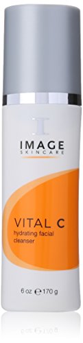 Image Skincare Vital C Hydrating Facial Cleanser, Fresh Squeezed Oranges, 6 oz. Creamy Hydrating Cleanser