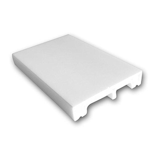Orac Decor Multifunctional Flexible Molding DX157F Crown Baseboard Panel or Case Molding Primed Polyurethane 4
