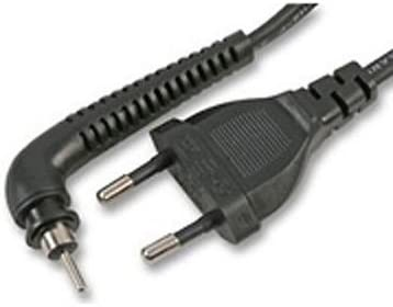 HealthCentre ghd Negro VDE Power Cable Assembly