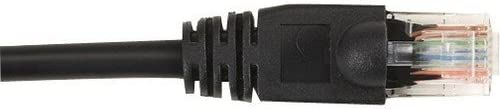 Black Box CAT5e Value Line Patch Cable Stranded 6.0-m Black 20-ft.