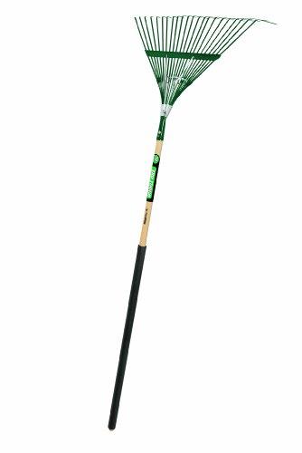 Truper 30451 Tru Tough Steel Leaf Rake, 22-Inch Head, 36-Inch Comfort Grip, 48-Inch