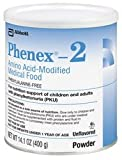 Phenex-2 Amino Acid-Modified Unflavored Medical Food - 400Gm X 6